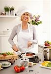 Hobby cook making the tomato sauce Stock Photo - Premium Royalty-Free, Artist: Scanpix Creative         , Code: 659-03535431