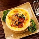 Mini Mushroom, Sausage and Broccoli Quiche Stock Photo - Premium Royalty-Free, Artist: Westend61, Code: 659-03536198