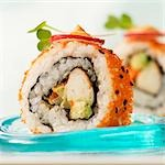 Lobster Avocado Sushi Stock Photo - Premium Royalty-Freenull, Code: 659-03536207