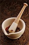 Spices in mortar with pestle Stock Photo - Premium Royalty-Free, Artist: Aurora Photos, Code: 659-03537421