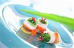 Radish rolls filled with tofu and wakame Stock Photo - Premium Royalty-Free, Artist: Water Rights, Code: 659-03537742
