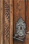 Church door in Weilheim, Bavaria / Detail Stock Photo - Premium Rights-Managed, Artist: Arcaid, Code: 845-03552537