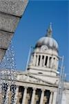 Old Market Square, Nottingham, England. RIBA Award winning redevelopment.  Architects: Gustafson Porter Stock Photo - Premium Rights-Managed, Artist: Arcaid, Code: 845-03552580