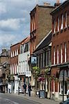 Eton High Street, Eton, near Windsor, Berkshire Stock Photo - Premium Rights-Managed, Artist: Arcaid, Code: 845-03552652