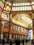 Leadenhall Market, London.  Architects: Sir Horace Jones Stock Photo - Premium Rights-Managed, Artist: Arcaid, Code: 845-03553053