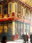 Leadenhall Market, London.  Architects: Sir Horace Jones Stock Photo - Premium Rights-Managed, Artist: Arcaid, Code: 845-03553055