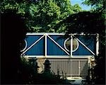 Architect's own house by Highgate Cemetery.  Architects: John Winter Stock Photo - Premium Rights-Managed, Artist: Arcaid, Code: 845-03553284