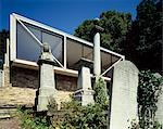 Architect's own house by Highgate Cemetery.  Architects: John Winter Stock Photo - Premium Rights-Managed, Artist: Arcaid, Code: 845-03553285