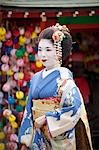 Geisha, Kyoto, Kyoto Prefecture, Kansai Region, Honshu, Japan Stock Photo - Premium Rights-Managed, Artist: Ikonica, Code: 700-03556725
