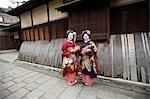 Geisha, Kyoto, Kyoto Prefecture, Kansai Region, Honshu, Japan Stock Photo - Premium Rights-Managed, Artist: Ikonica, Code: 700-03556730