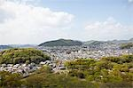 View From Himeji Castle, Himeji City, Hyogo, Kansai Region, Honshu, Japan Stock Photo - Premium Rights-Managed, Artist: Ikonica, Code: 700-03556741