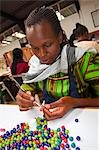 Woman Working with Kazuri Beads, Nairobi, Kenya Stock Photo - Premium Rights-Managed, Artist: Alberto Biscaro, Code: 700-03556758