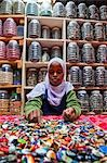 Woman Working with Kazuri Beads, Nairobi, Kenya Stock Photo - Premium Rights-Managed, Artist: Alberto Biscaro, Code: 700-03556759