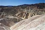 Badlands, Zabriskie Point, Death Valley, California, USA