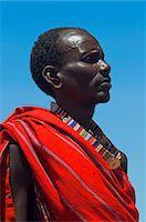 Portrait of Masai at Magadi Lake Village, Kenya Stock Photo - Premium Rights-Managednull, Code: 700-03567761