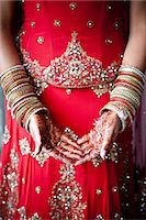 special moment - Close-up of Henna on Bride's Hands Stock Photo - Premium Rights-Managednull, Code: 700-03567854