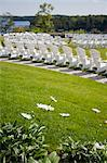 Adirondack Chairs Set Up for a Wedding Stock Photo - Premium Rights-Managed, Artist: Ikonica, Code: 700-03567857