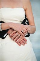 special moment - Close-up of Bride and Groom Hugging Stock Photo - Premium Rights-Managednull, Code: 700-03567858
