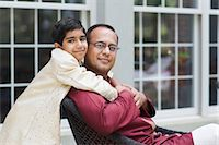 east indian (male) - Portrait of Father and Son Stock Photo - Premium Rights-Managednull, Code: 700-03568013