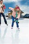 Family ice skating Stock Photo - Premium Royalty-Free, Artist: Marnie Burkhart, Code: 618-03571787