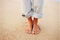 Woman's Feet, Baja California Sur, Mexico Stock Photo - Premium Royalty-Freenull, Code: 600-03586529