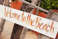 Sign, Baja California Sur, Mexico Stock Photo - Premium Rights-Managednull, Code: 700-03586627