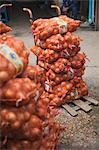 Bags of Onions at Pak Khlong Talat Central Market, Bangkok, Thailand Stock Photo - Premium Rights-Managed, Artist: dk & dennie cody, Code: 700-03586799