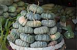 Thai Pumpkins at Pak Khlong Talat Central Market, Bangkok, Thailand Stock Photo - Premium Rights-Managed, Artist: dk & dennie cody, Code: 700-03586802