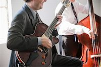 Musicians Playing in Band Stock Photo - Premium Rights-Managednull, Code: 700-03587111