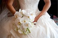 special moment - Bride Holding Bouquet Stock Photo - Premium Rights-Managednull, Code: 700-03587162
