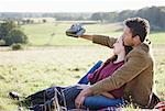 Couple on Roadtrip Stock Photo - Premium Royalty-Free, Artist: Jerzyworks, Code: 621-03597484
