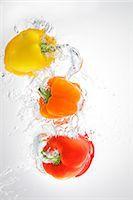 paprika - Paprika Splashing In To Water Stock Photo - Premium Rights-Managednull, Code: 859-03598688