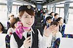 Bus Conductress Stock Photo - Premium Rights-Managed, Artist: Aflo Relax, Code: 859-03599733
