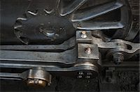 steam engine - Close-up of Train Wheel and Connecting Rods of Historic English Steam Engine, Alresford, Essex, England Stock Photo - Premium Rights-Managednull, Code: 700-03601374
