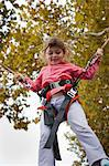 Girl on Trampoline, Bordeaux, Gironde, Aquitaine, France Stock Photo - Premium Royalty-Free, Artist: Patrick Chatelain, Code: 600-03615484