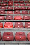 Seats in stadium, Oberhausen, North Rhine-Westphalia, Germany, Europe Stock Photo - Premium Rights-Managed, Artist: F1Online, Code: 853-03616774