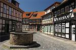 Old Town, Wernigerode, Harz, Saxony Anhalt, Germany Stock Photo - Premium Rights-Managed, Artist: Raimund Linke, Code: 700-03621107