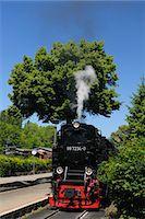 steam engine - Harz Narrow Gauge Railways, Wernigerode, Harz, Saxony Anhalt, Germany Stock Photo - Premium Rights-Managednull, Code: 700-03621113