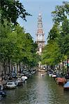 Zuiderkerk Church Tower, Amsterdam, North Holland, Netherlands
