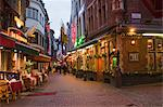 Rue des Bouchers, Brussels, Belgium Stock Photo - Premium Rights-Managed, Artist: Marco Cristofori, Code: 700-03622861
