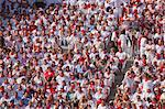 Bullfighting Audience, Fiesta of San Fermin, Plaza de Toros de Pamplona, Pamplona, Navarre, Spain Stock Photo - Premium Rights-Managed, Artist: Marco Cristofori, Code: 700-03622872