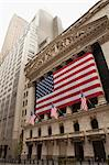 New York Stock Exchange on July 4th, Wall Street, Manhattan, New York City, New York, USA