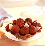 Chocolate truffles Stock Photo - Premium Rights-Managed, Artist: Photocuisine, Code: 825-03626897