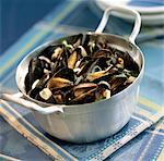 Mussels in white wine Stock Photo - Premium Rights-Managed, Artist: Photocuisine, Code: 825-03627449