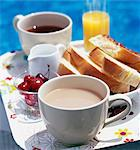 Breakfast Stock Photo - Premium Rights-Managed, Artist: Photocuisine, Code: 825-03627856