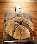 Spelt flour bread Stock Photo - Premium Rights-Managed, Artist: Photocuisine, Code: 825-03628179