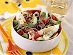 Tuna and anchovy salad Stock Photo - Premium Rights-Managed, Artist: Photocuisine, Code: 825-03628236