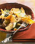 Maltagliatis with artichokes and confit lemons Stock Photo - Premium Rights-Managed, Artist: Photocuisine, Code: 825-03629009