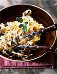 Tagliatelles with mascarpone and gorgonzola Stock Photo - Premium Rights-Managed, Artist: Photocuisine, Code: 825-03629011