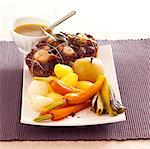 Oxtail Pot-au-feu Stock Photo - Premium Rights-Managed, Artist: Photocuisine, Code: 825-03629060